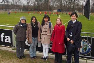 Yokohama_Students_visit_Eintracht