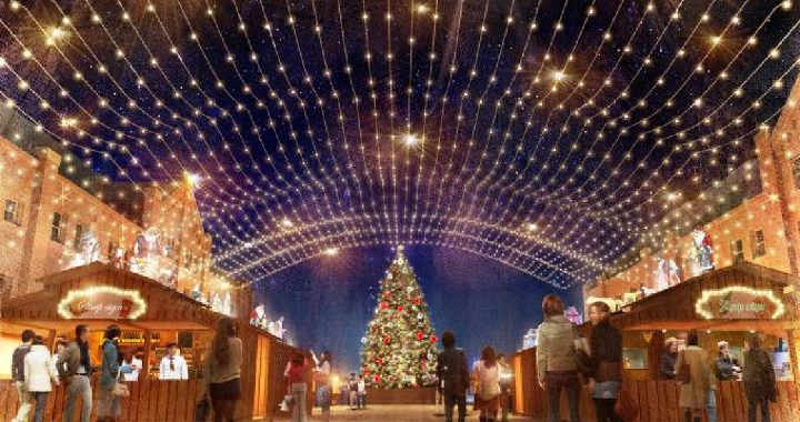 Weihnachtsmarkt_Yokohama_Roter_Backsteinspeicher2017_Buden2