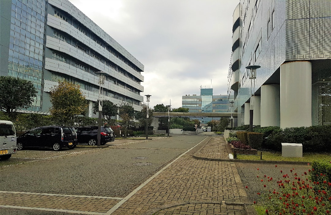 GermanIndustryParkYokohamaParkplatz