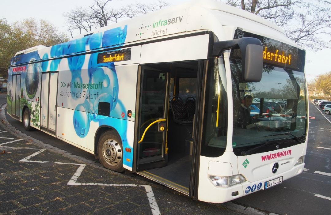 InfraservWasserstoffbus