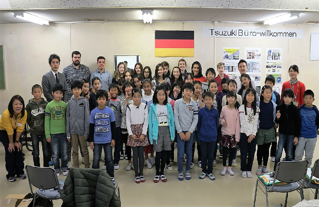 DeutscheSchuleTokyoYokohamaKlassenfoto