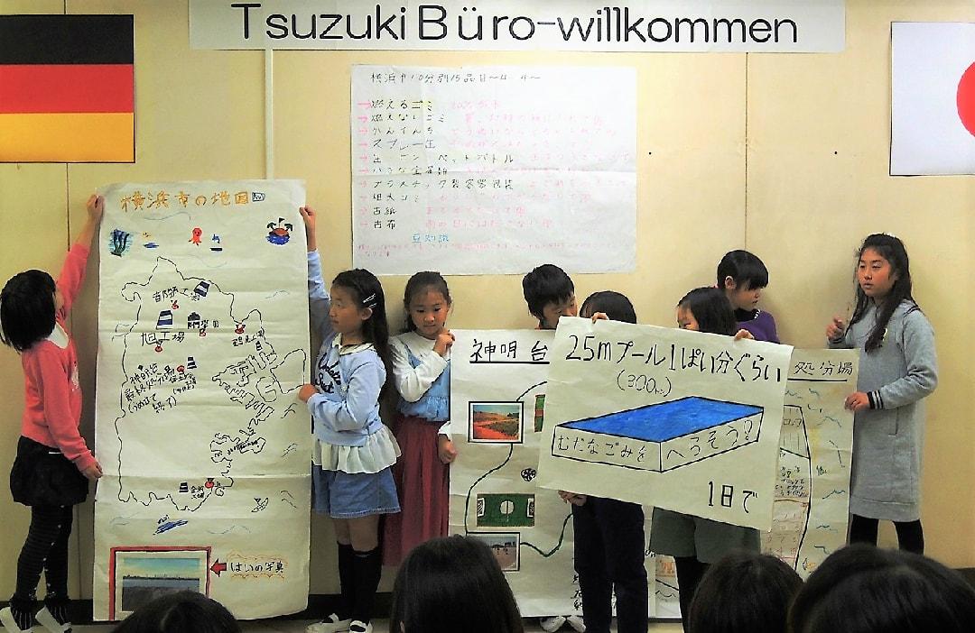 DeutscheSchuleTokyoYokohamaSchulprojektMüllverwertungJapanischePräsentation